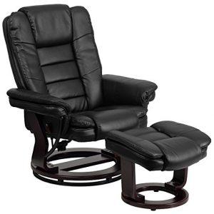 flash furniture swivel recliner chair mahongay wood base