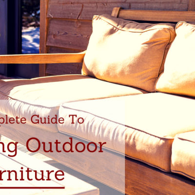 A Complete Guide to Cleaning Outdoor Furniture